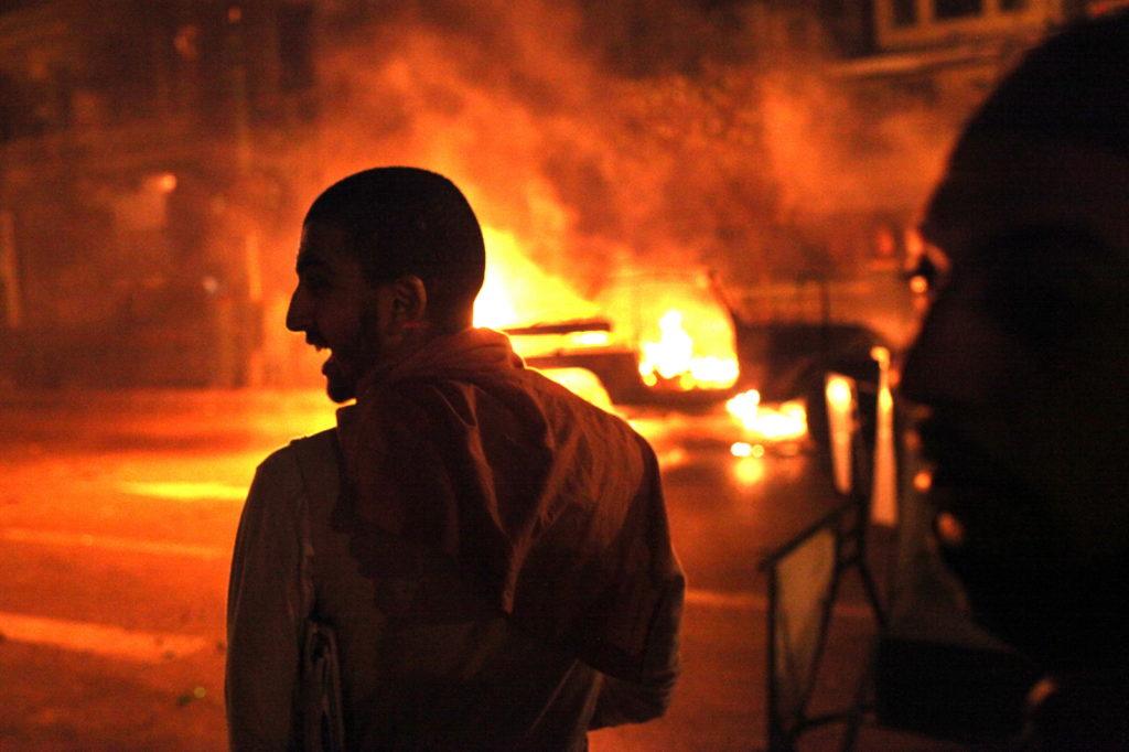 Arabská revoluce, Káhira
