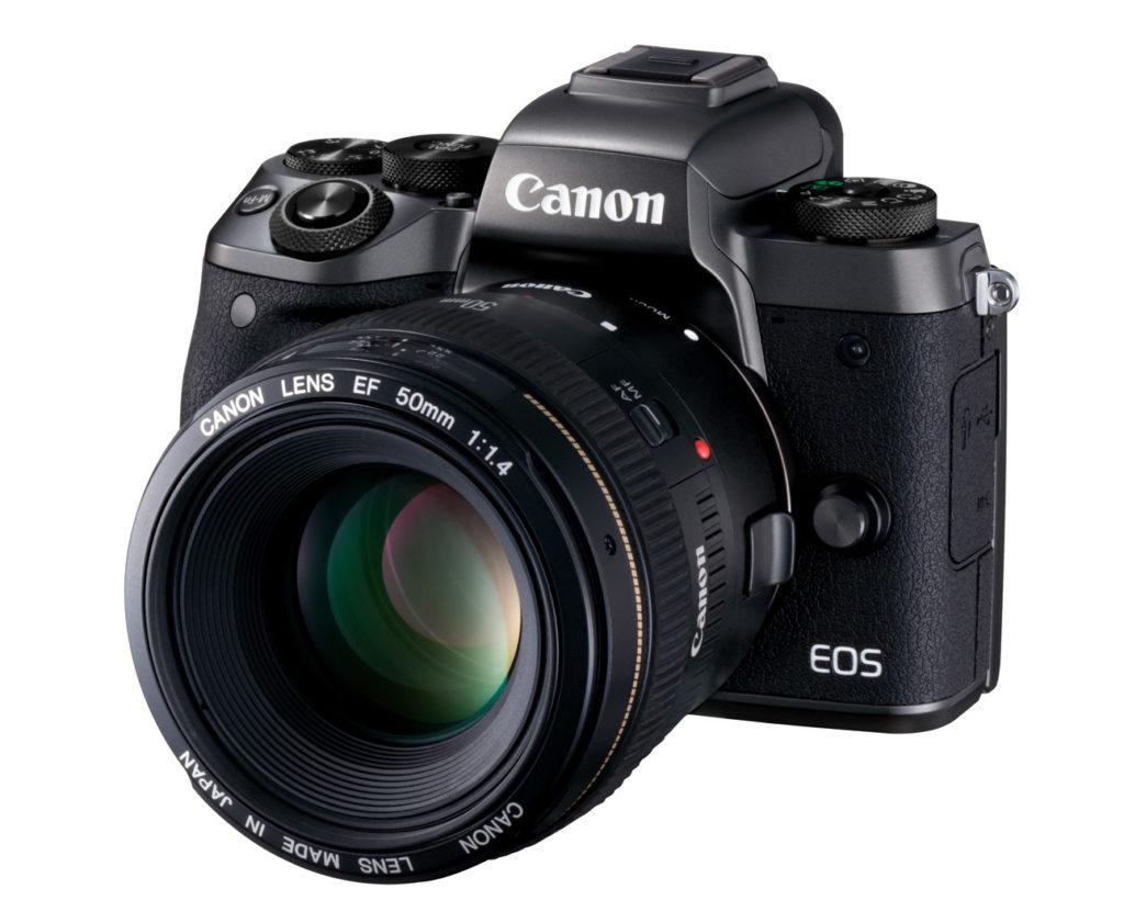 Canon EOS M5 adaptér