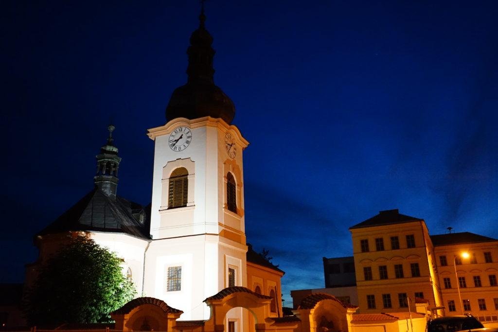 Manětín kostel