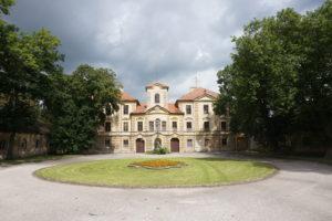 Lázně Bělohrad zámek