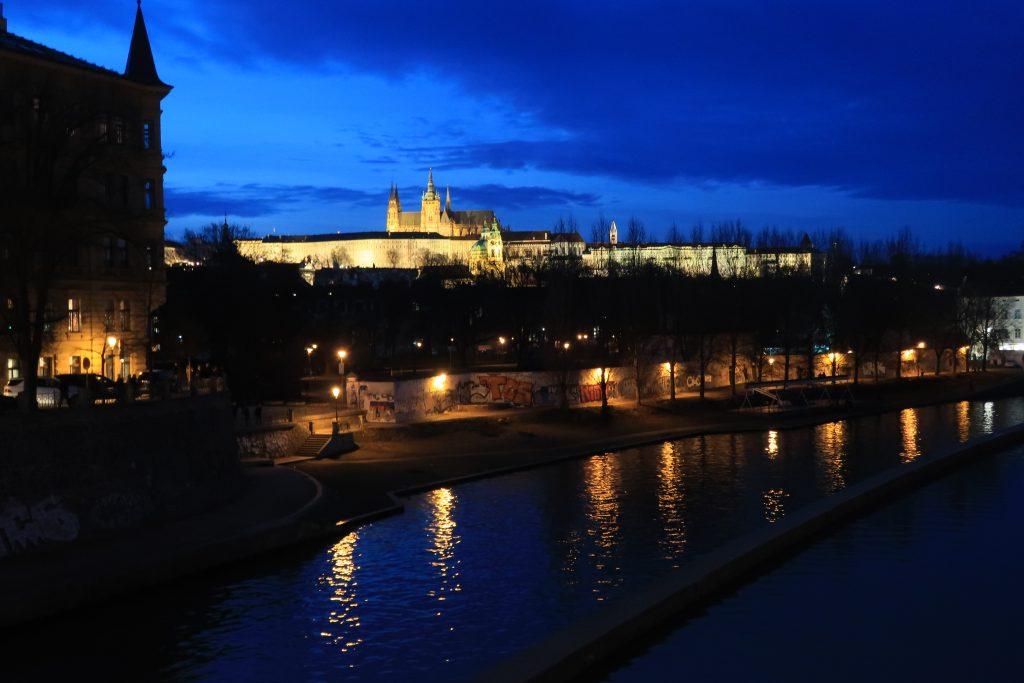 Praha v noci