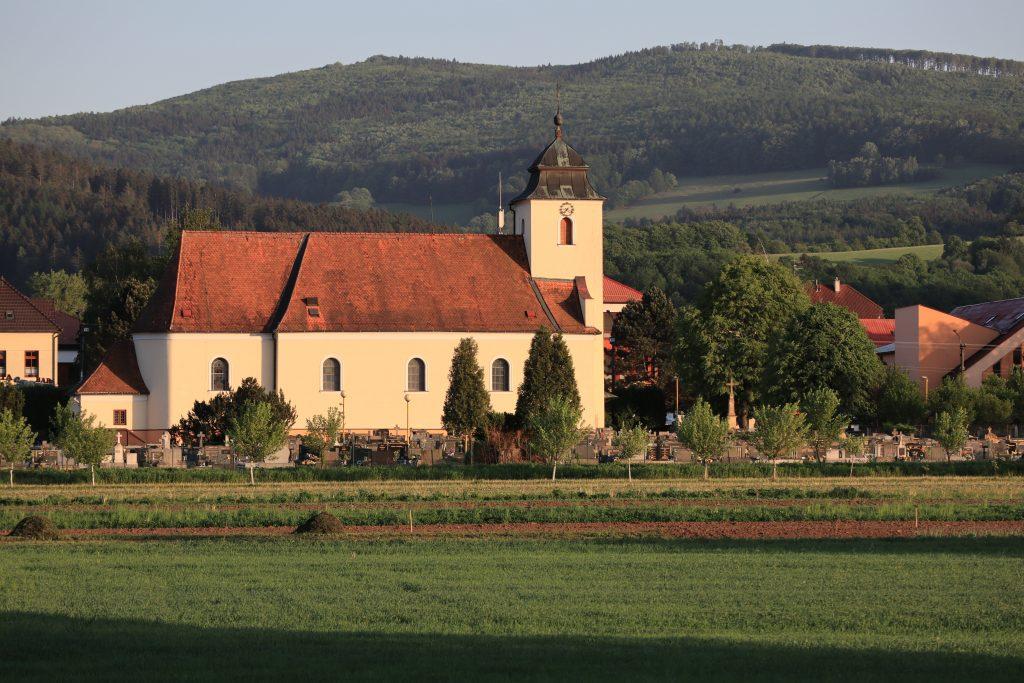 Kostel Štítná nad Vláří