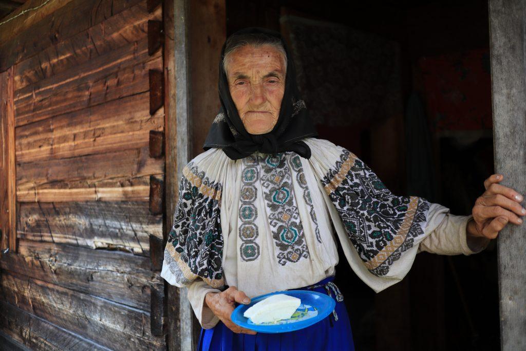 Rumunská pastevkyně