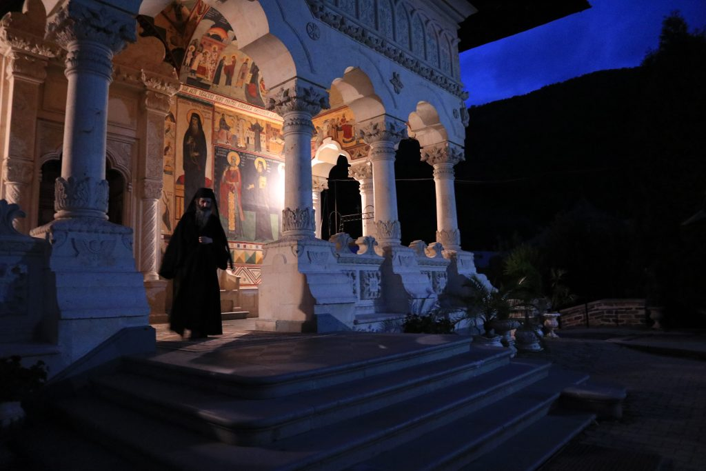 klášter Lainici, Rumunsko