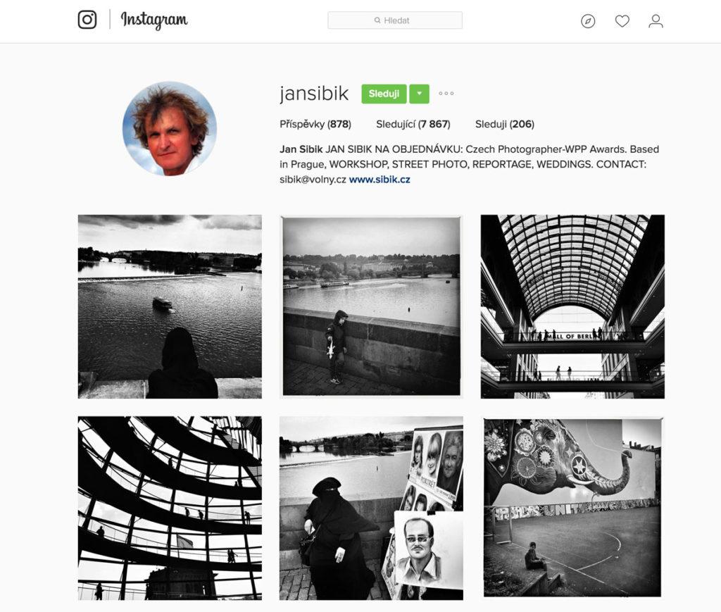 Jan Šibík Instagram