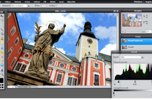 Pixlr Editor nabízí opravdu překvapivě mnoho funkcí, které i pokročilé fotografy překvapí svojí velmi slušnou funkčností... Kdo má zkušenosti s úpravou fotografií, dokáže ho užívat během několika minut.
