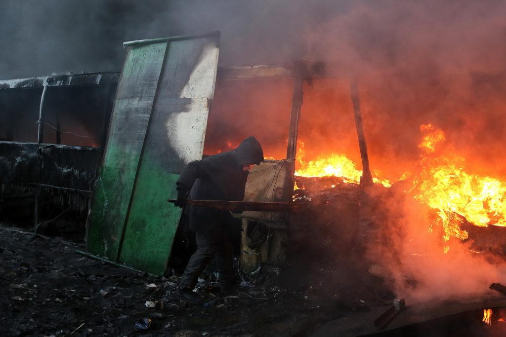 Revoluce na Ukrajině, Kyjev
