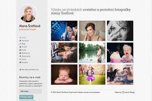 Alena Šreflová – profesionální fotograf