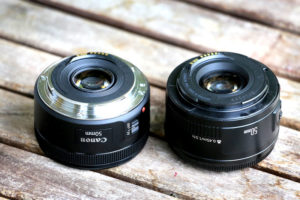 Canon 50mm F1,8 ii versus Canon EF 50mm f/1,8 STM