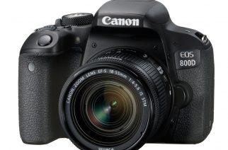 Canon EOS 800D na oficiálním snímku.