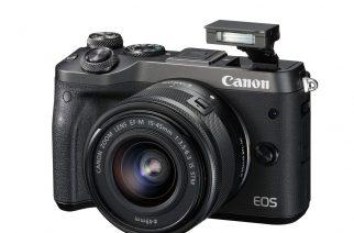 Canon EOS M6 na oficiálním snímku. Foto: Canon.cz