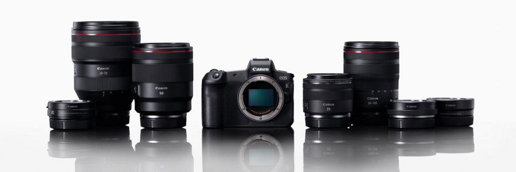 Canon R a objektivy