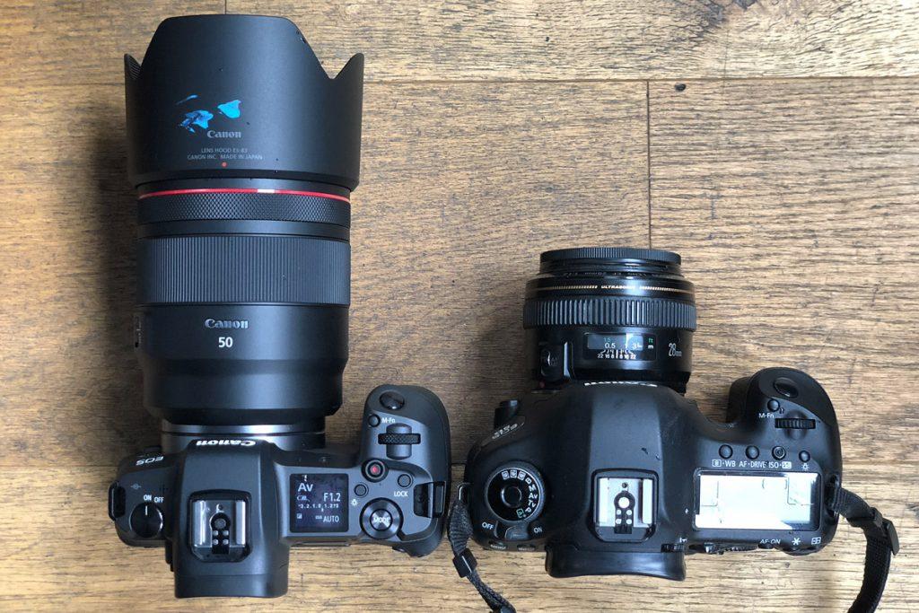 Canon EOS R vs Canon 5D mark iii