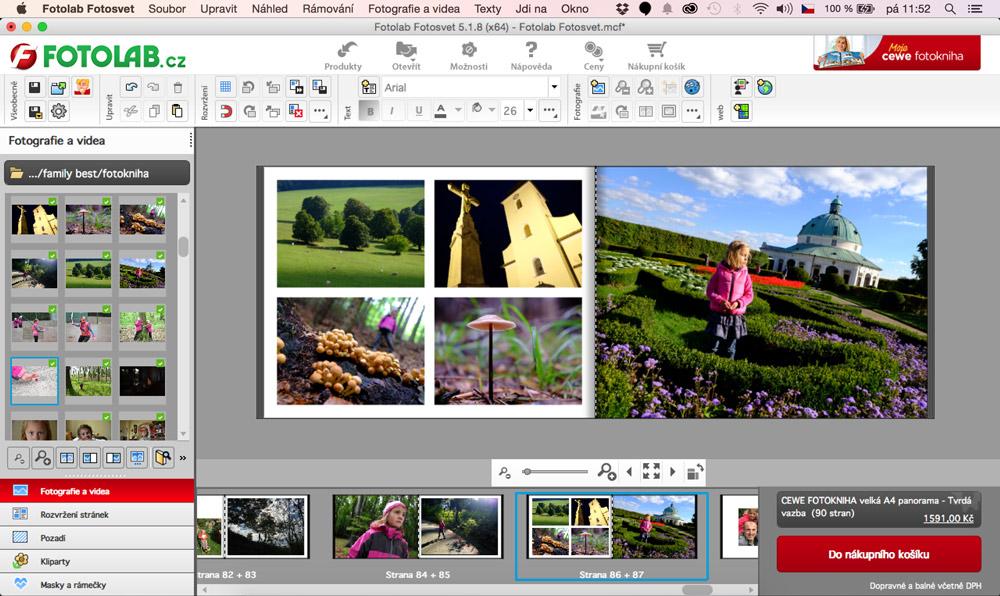 CEWE fotokniha Fotolab