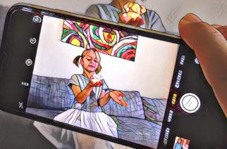 Jak upravit fotku z mobilu, aby vypadala lépe? Takto divoce raději ne, i když jednou za rok trochu pokusů neuškodí (aplikace Prisma).