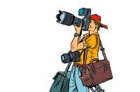 fotograf ilustrace