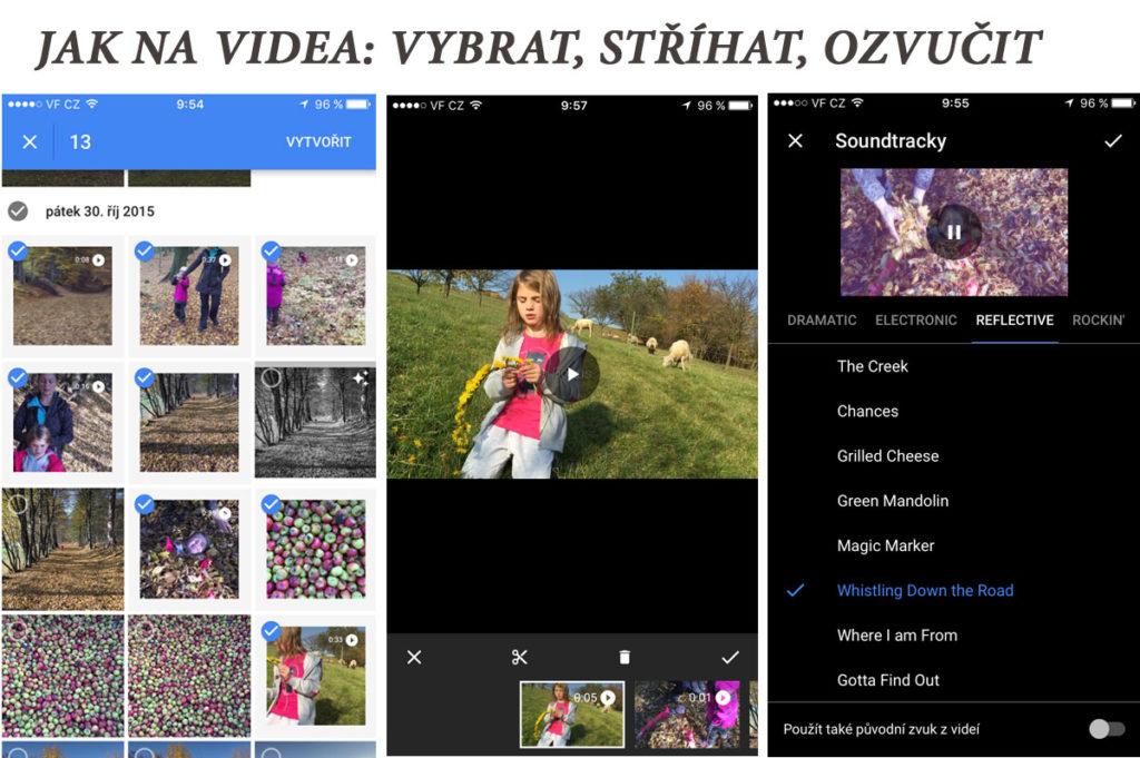 Google Fotky Videa