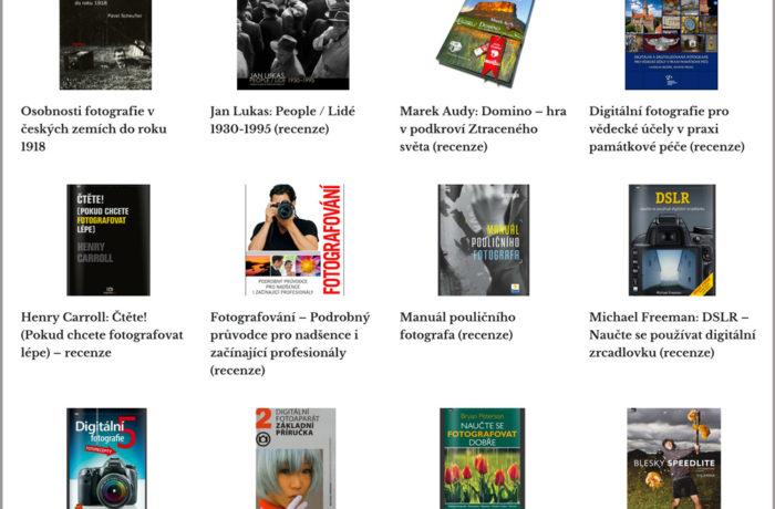 Nejlepší knihy o fotografování