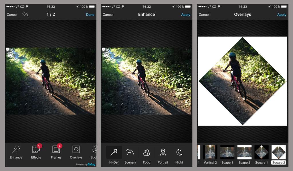 Aplikace Photo Editor