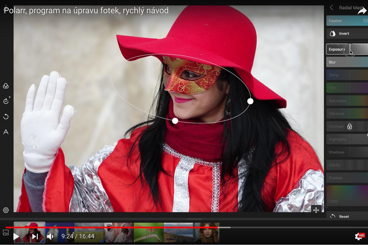 videa z hlavní práce