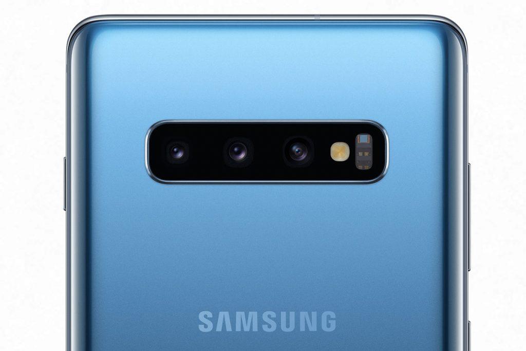 Samsung Galaxy S10+ fotoaparát