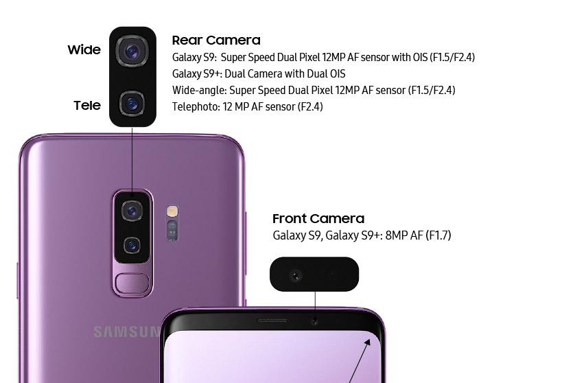 Samsung S9 Plus kamera