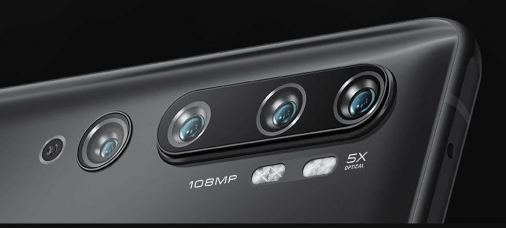 Xiaomi Mi Note 10 fotoaparát